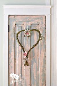 Valentine wreath how to