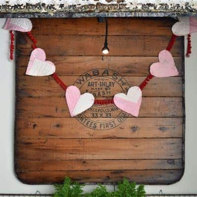 Valentines Day Decor in the Kitchen