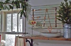 Valentines Day Decor in the Kitchen