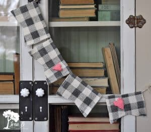 valentine bunting how to