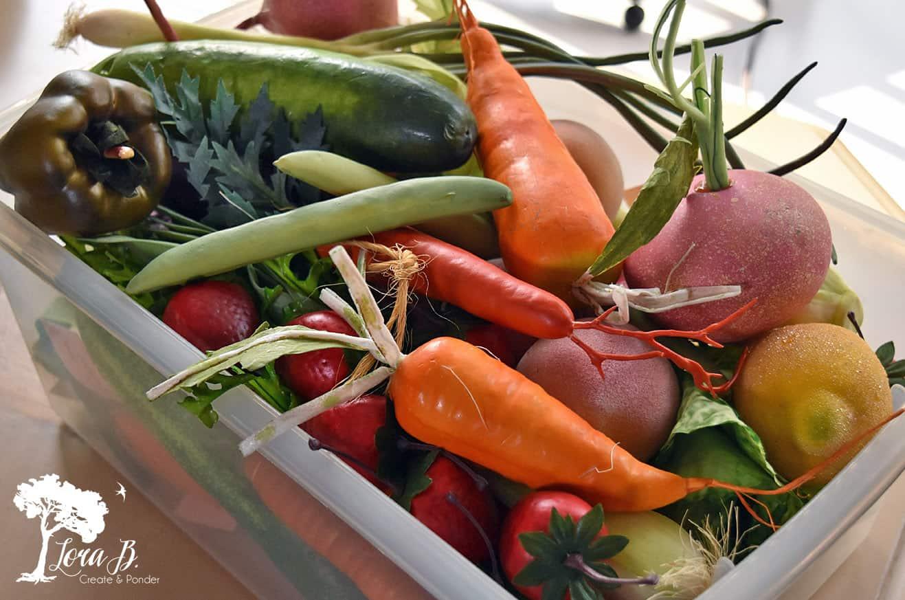 Faux veggies