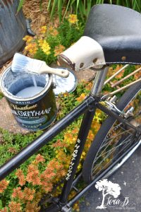 how to refresh a vintage bicycle for garden art