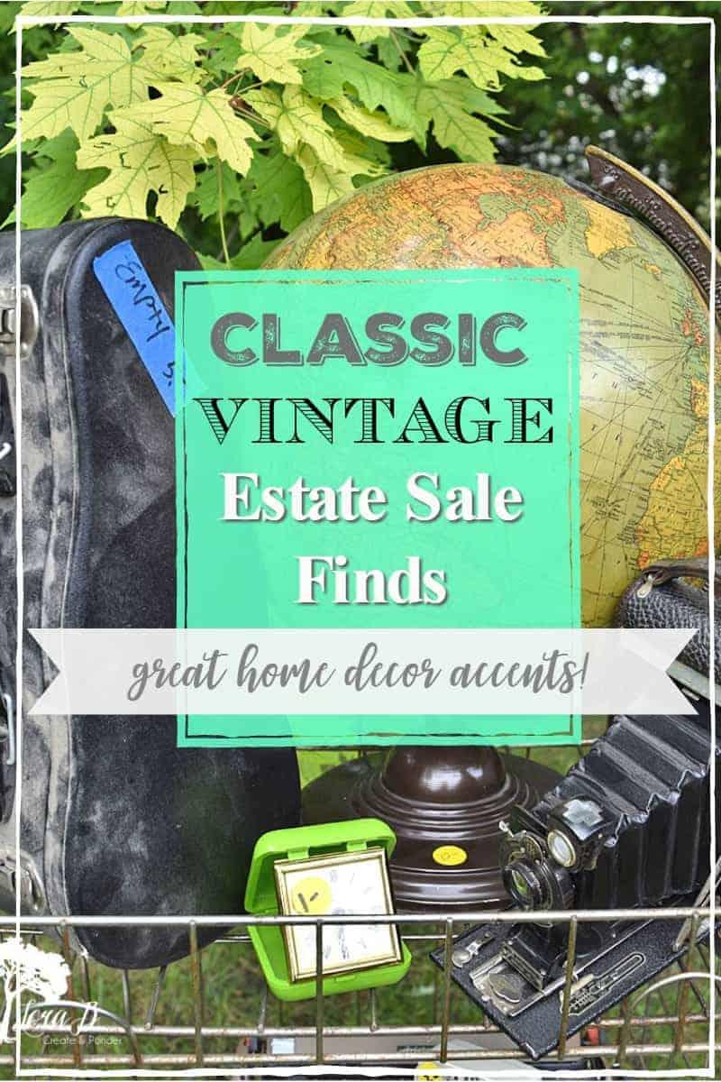 Classic Vintage Estate Sale Finds (plus helpful tips)