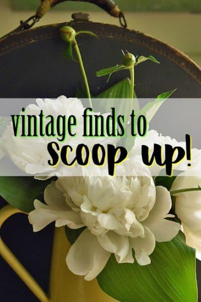 Spring Vintage Finds, a.k.a. Couldn't Hold Back…