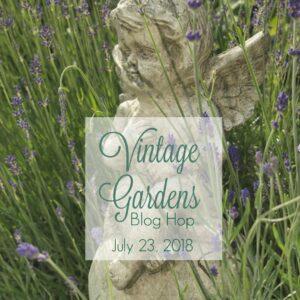 Vintage garden blog hop