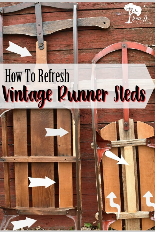 How To Refresh Vintage Sleds