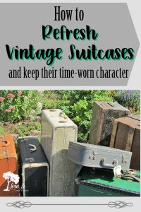 Vintage Suitcases: All Dressed Up and Nowhere to Go