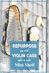 repurposed violin case