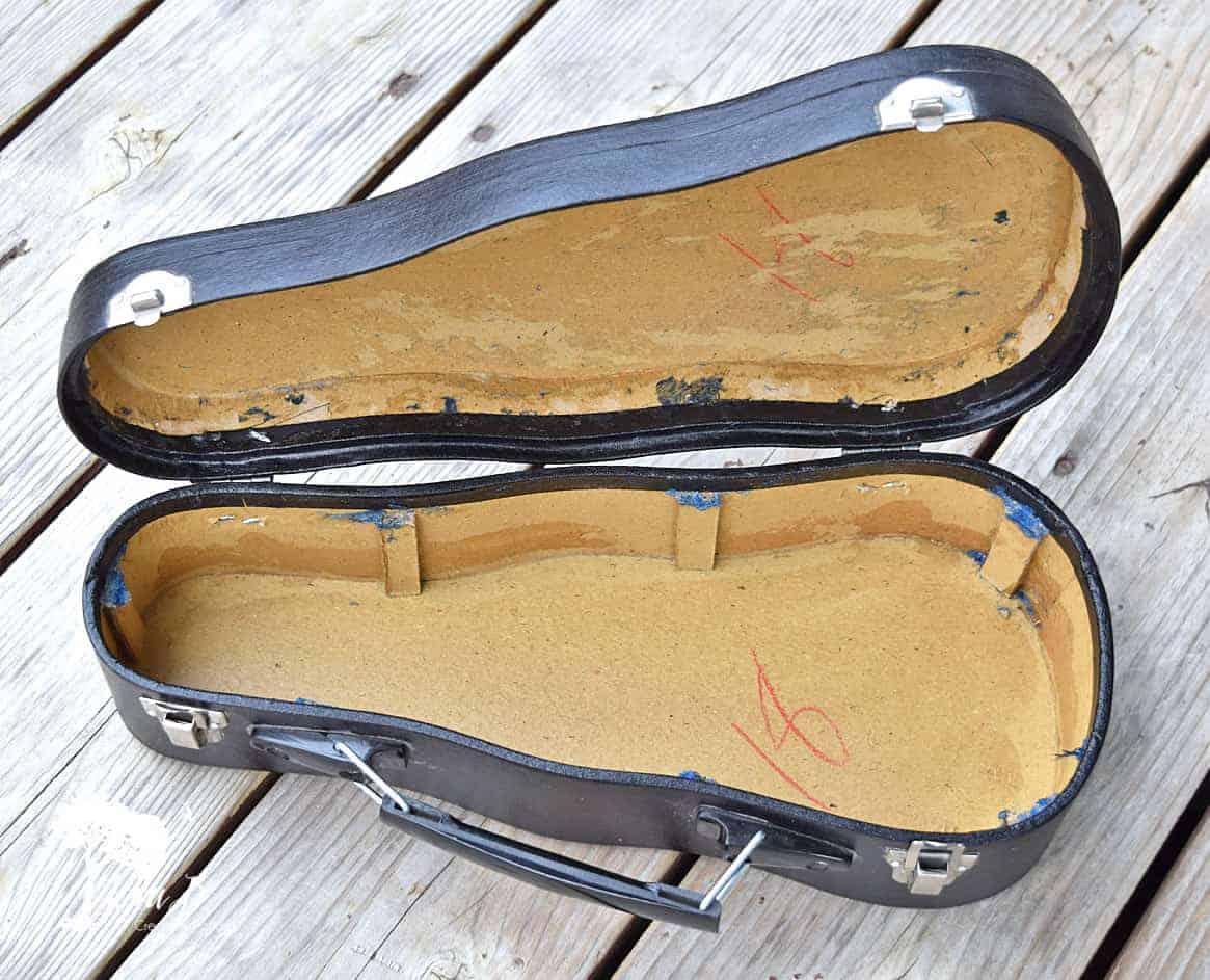 Violin Instrument Case Repurpose