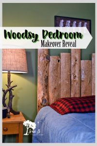 Woodsy Bedroom Makeover Reveal