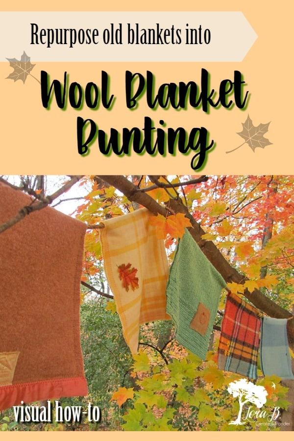 Wool Blanket Bunting