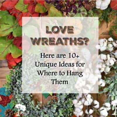 10+ Ideas for Where to Hang Wreaths