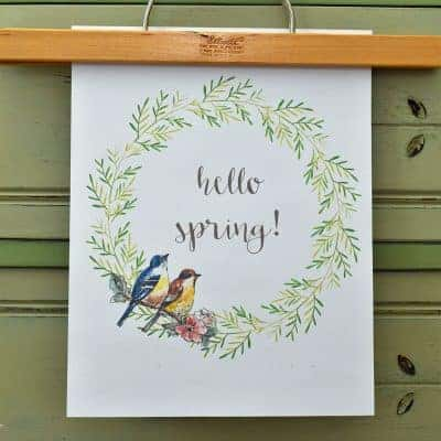 12 Best Spring Decorating and DIY Ideas + a Free Spring Printable