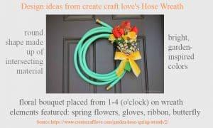 hose wreath
