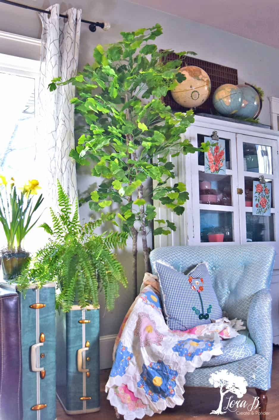 Spring Living Room Tour