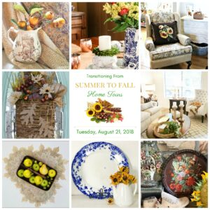 Transition to Fall Home Tour